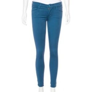 MOTHER Low-Rise Skinny Pants Sample Small